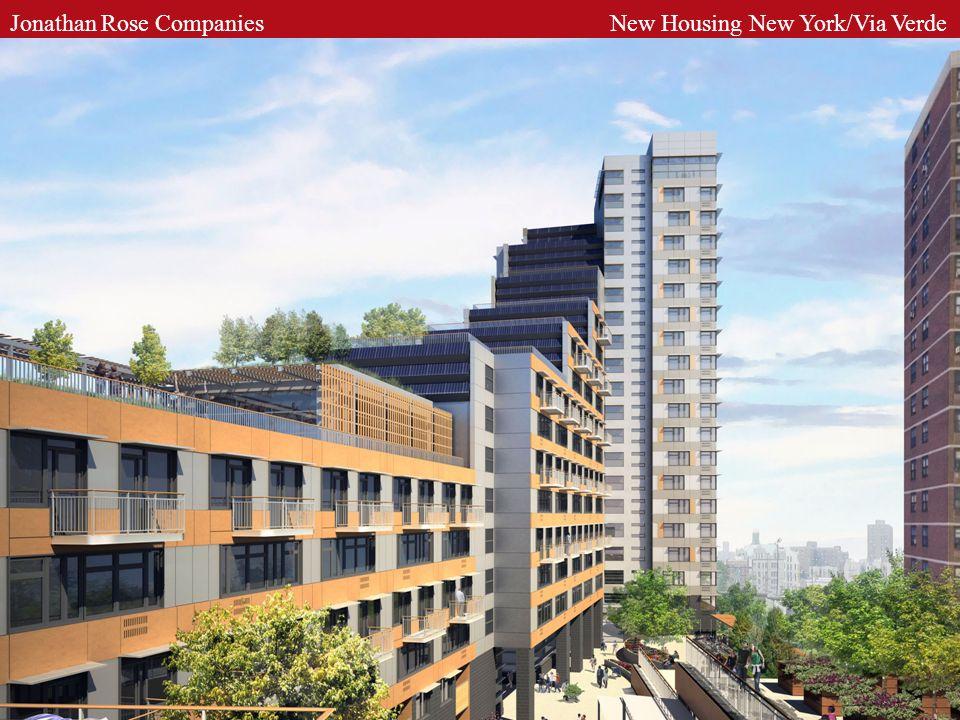 Jonathan Rose Companies New Housing New York/Via Verde