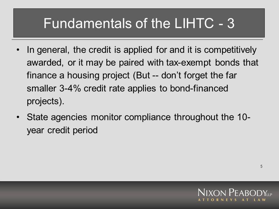 6 Fundamentals of the HTC HTC is generally a 20% credit (sometimes 10%) based on qualified rehabilitation expenditures.