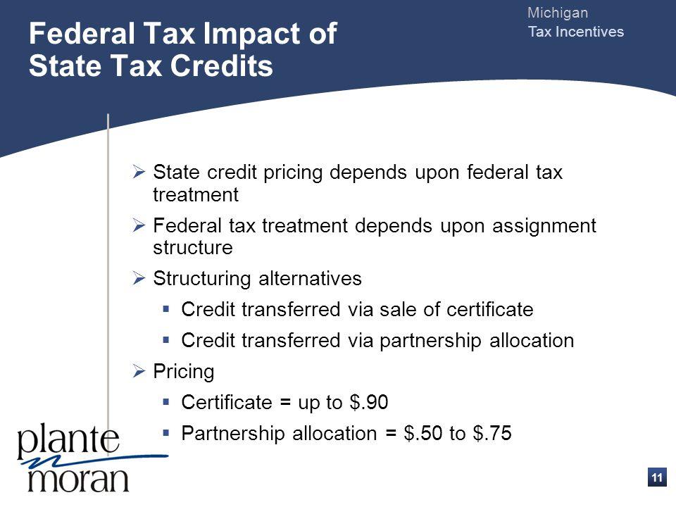 Michigan Tax Incentives 10