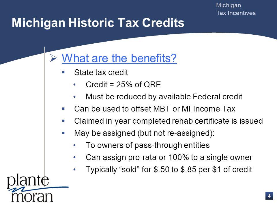 Michigan Tax Incentives 3