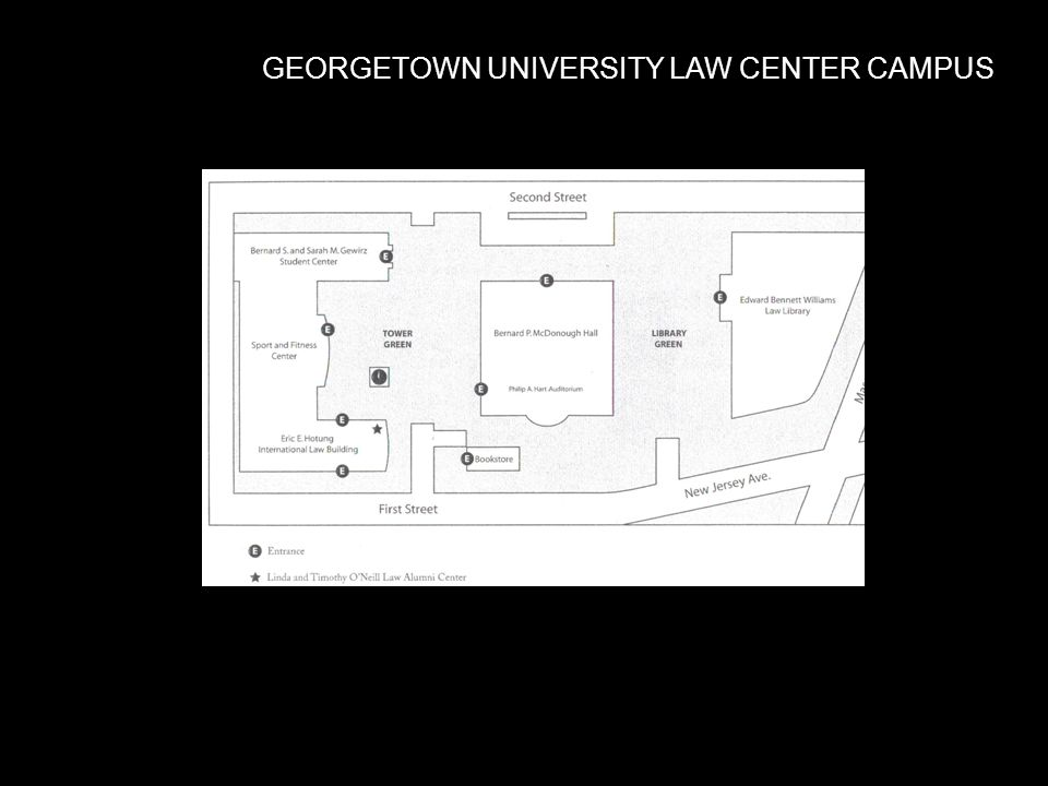 GEORGETOWN UNIVERSITY LAW CENTER CAMPUS