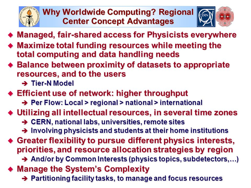 Why Worldwide Computing.