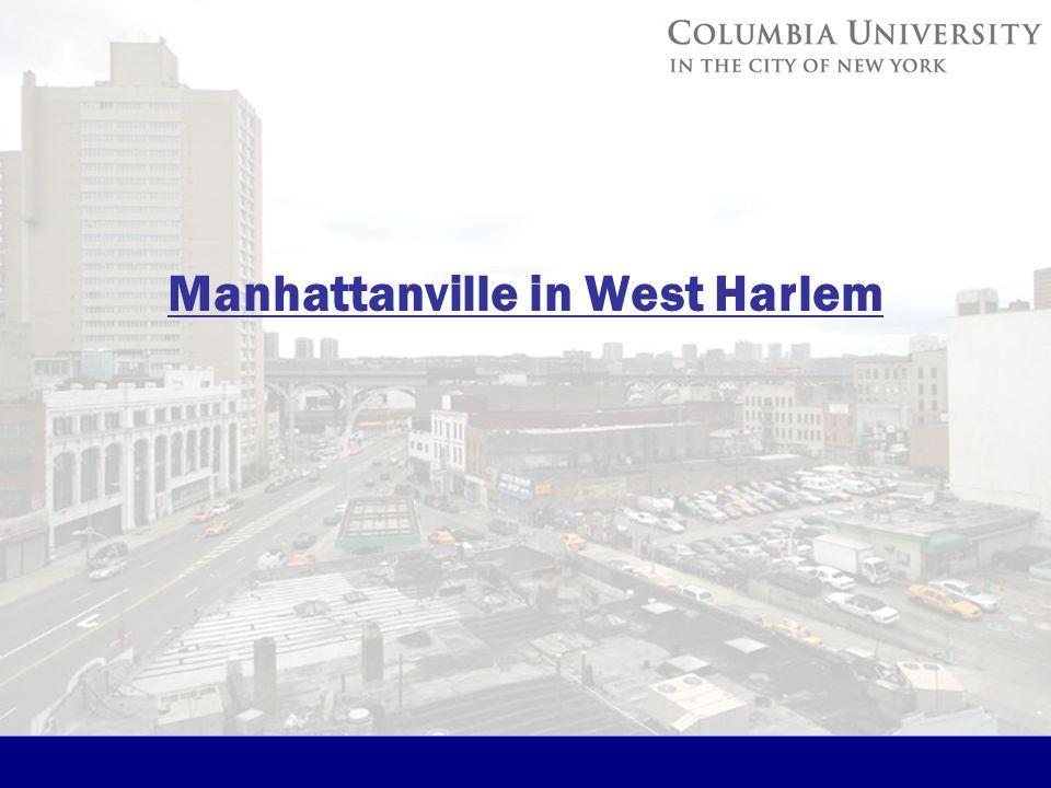Manhattanville in West Harlem