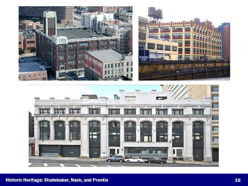 Historic Heritage: Studebaker, Nash, and Prentis 16