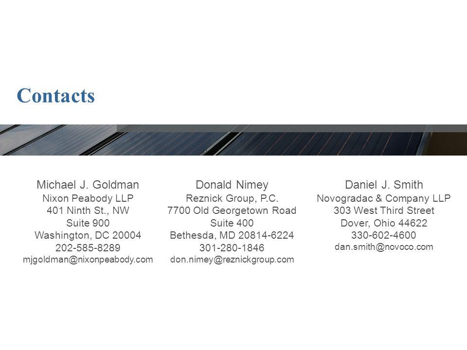Contacts Michael J.