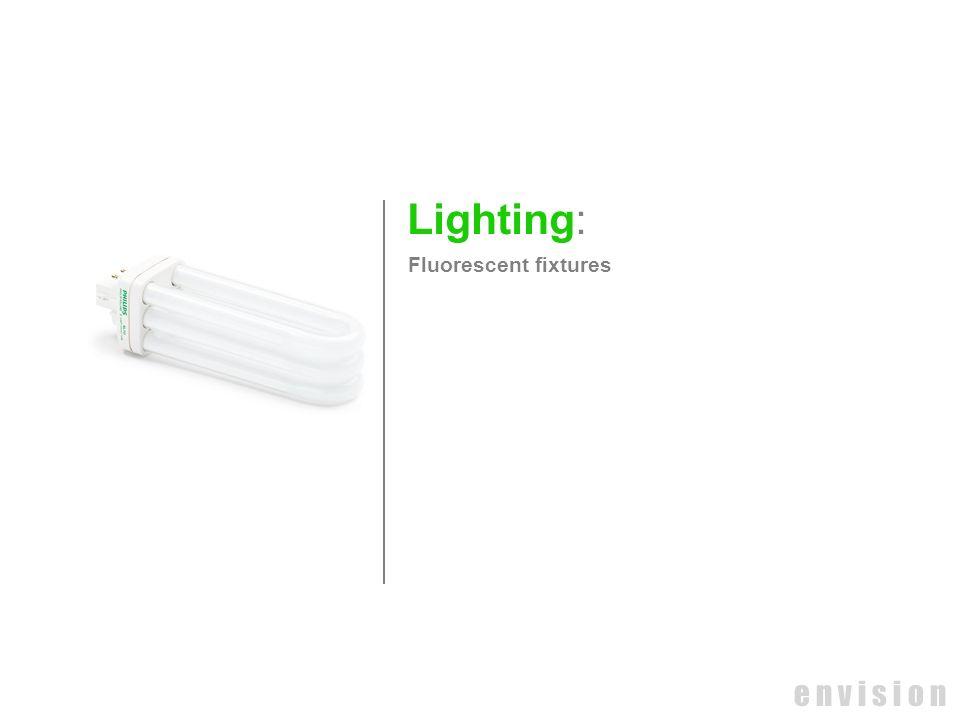 e n v i s i o n Lighting: Fluorescent fixtures