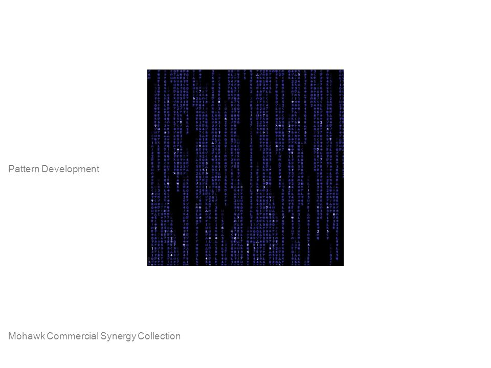 Mohawk Commercial Synergy Collection Pattern Development