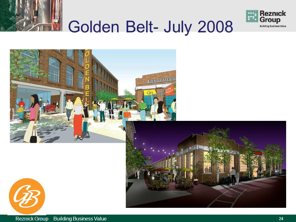 Reznick Group Building Business Value 23 Golden Belt- July 2008