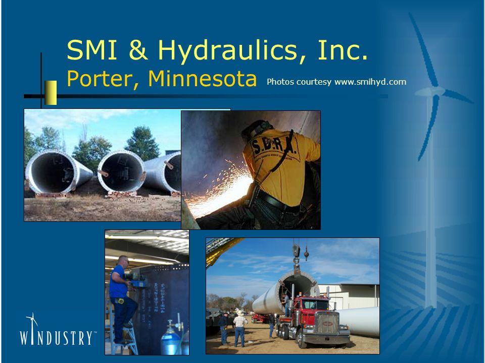 SMI & Hydraulics, Inc. Porter, Minnesota Photos courtesy www.smihyd.com
