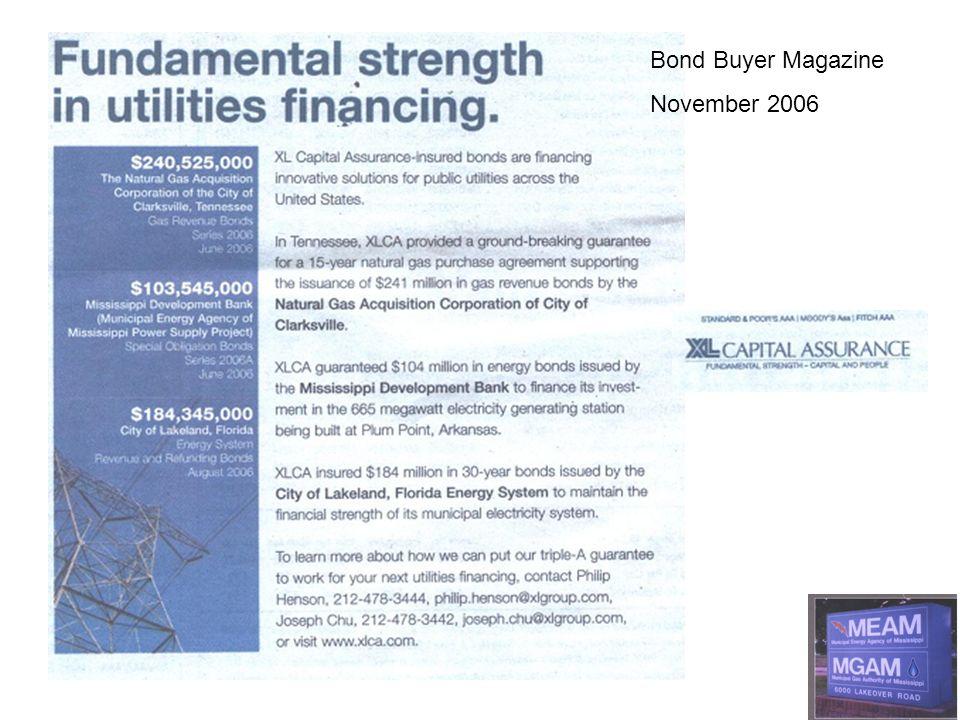 Bond Buyer Magazine November 2006