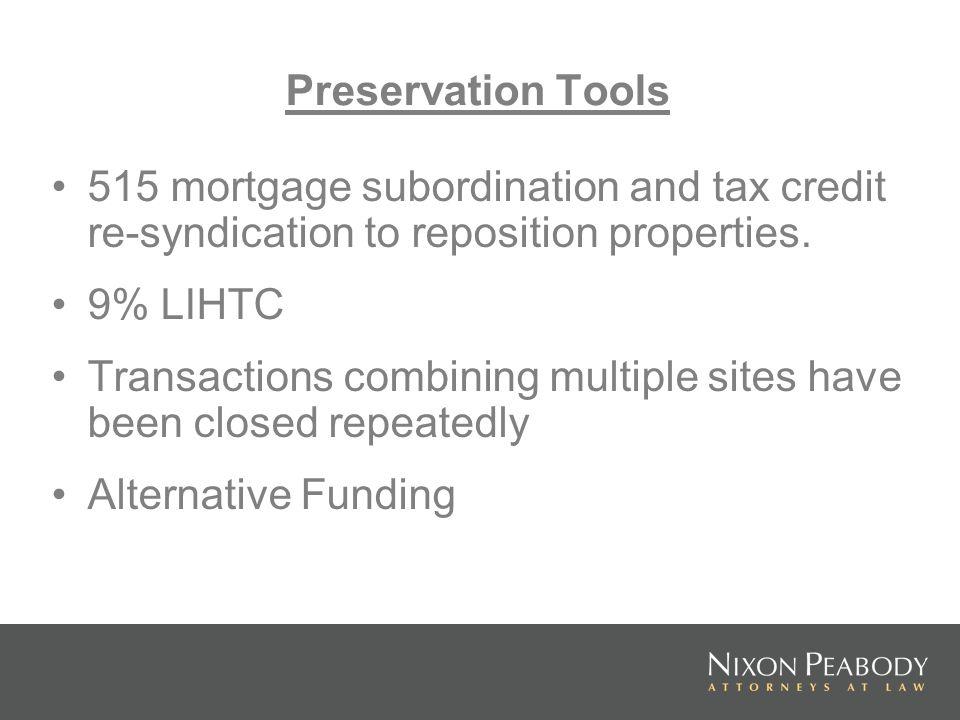 Tiered rents for LIHTC properties.
