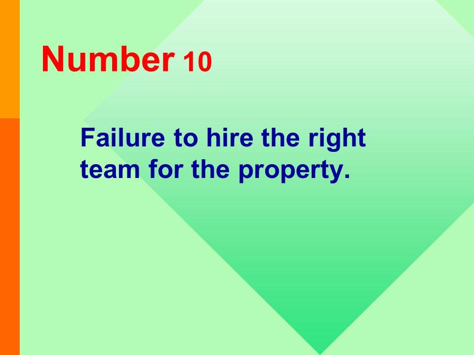 2/1/2014 12 TOP TEN REASONS FOR FAILING A REAC