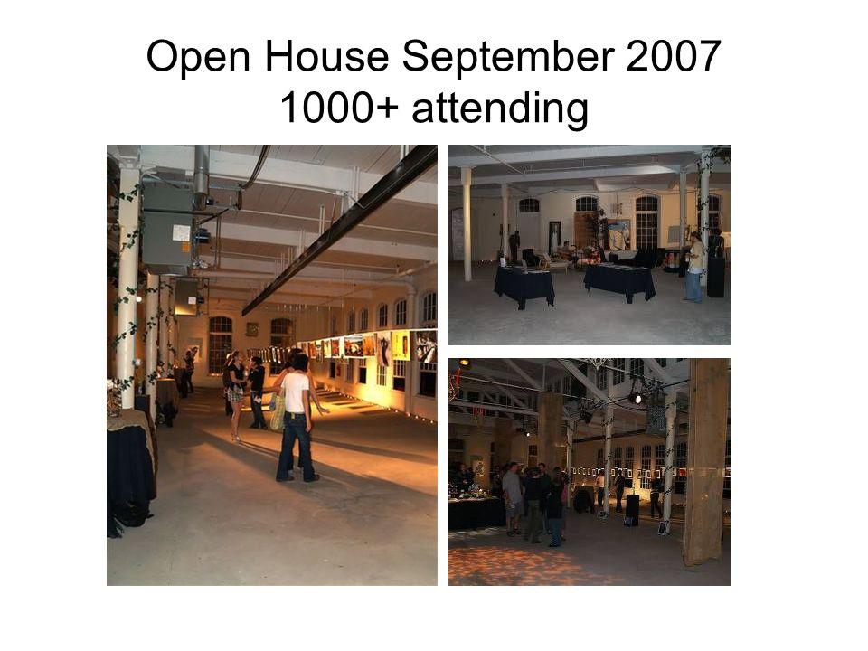 Open House September 2007 1000+ attending