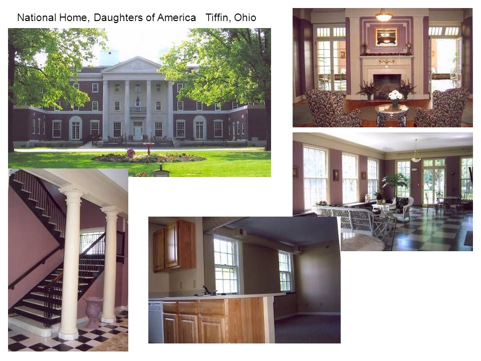 National Home, Daughters of America Tiffin, Ohio