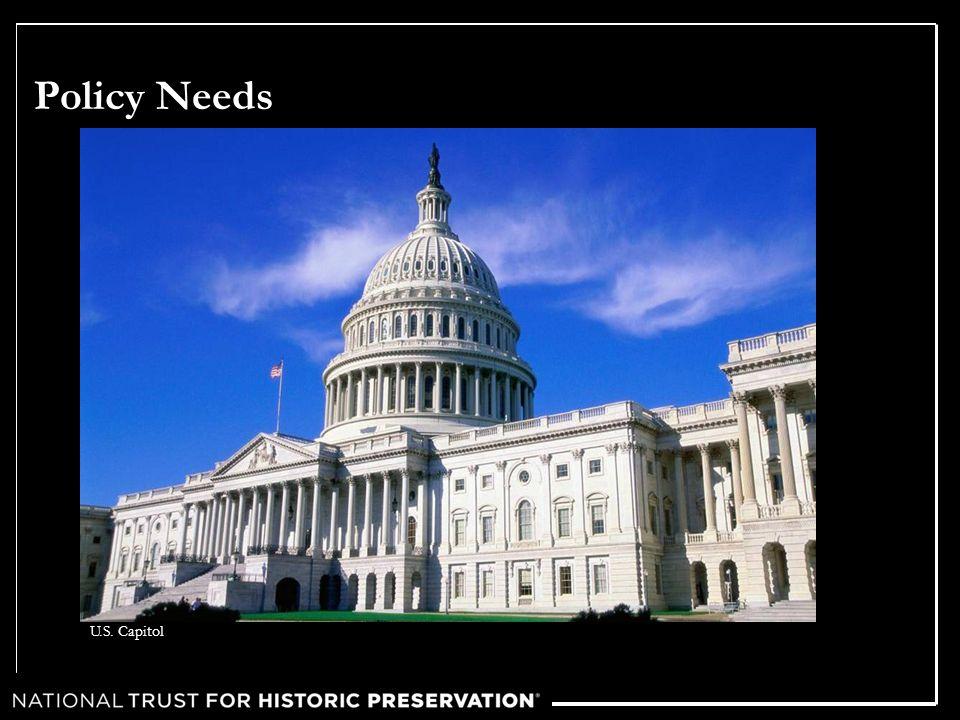 Policy Needs U.S. Capitol