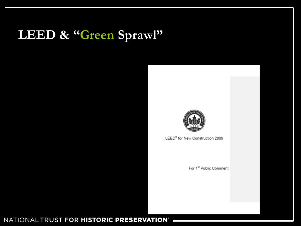 LEED & Green Sprawl