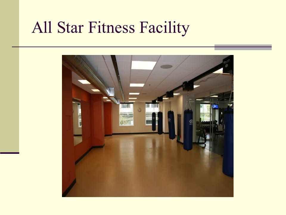 All Star Fitness Facility
