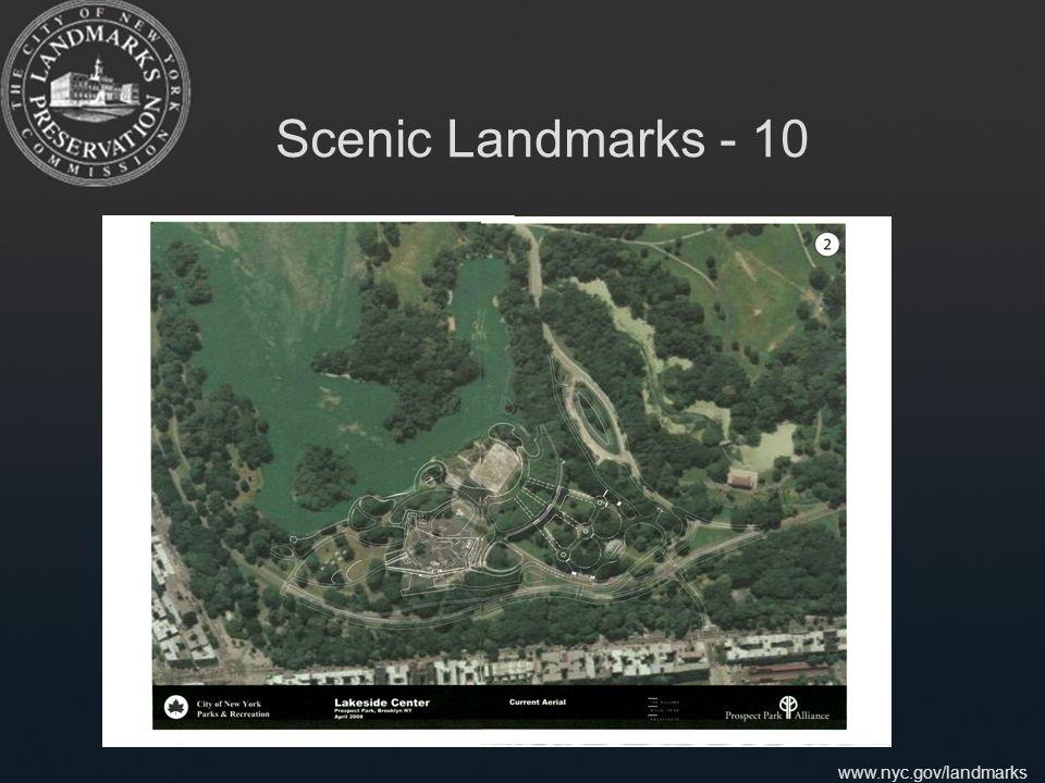 www.nyc.gov/landmarks Scenic Landmarks - 10