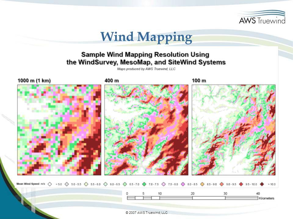 © 2007 AWS Truewind, LLC Wind Mapping