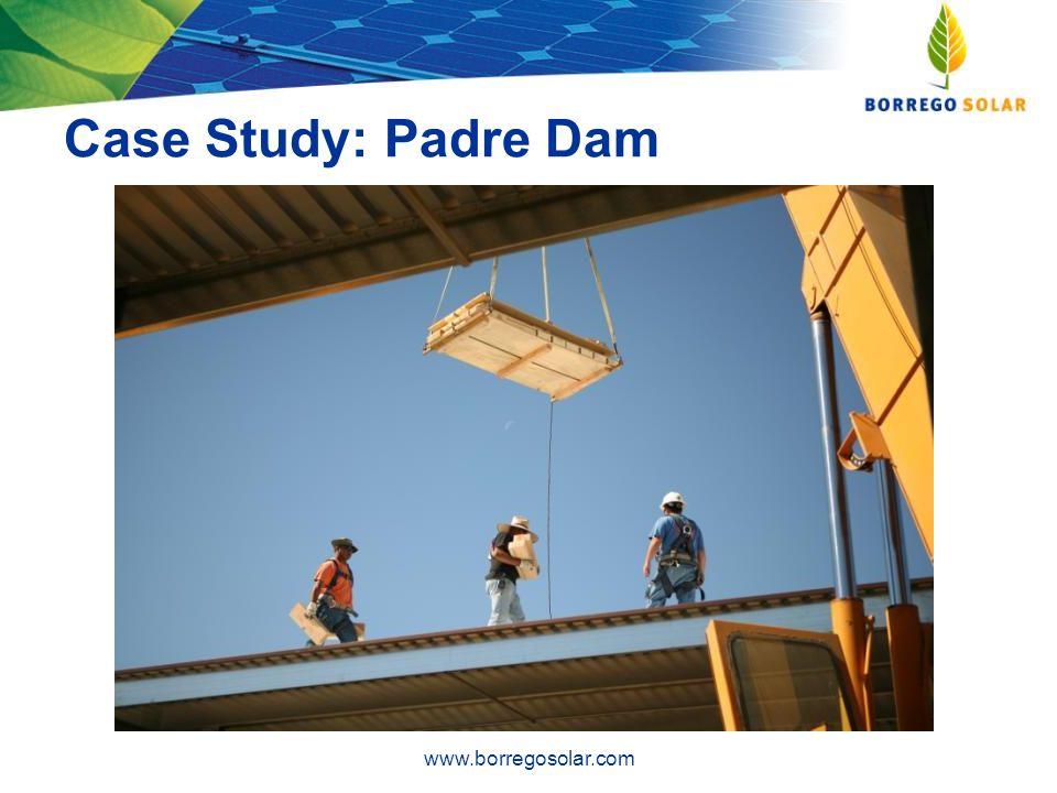 Case Study: Padre Dam www.borregosolar.com