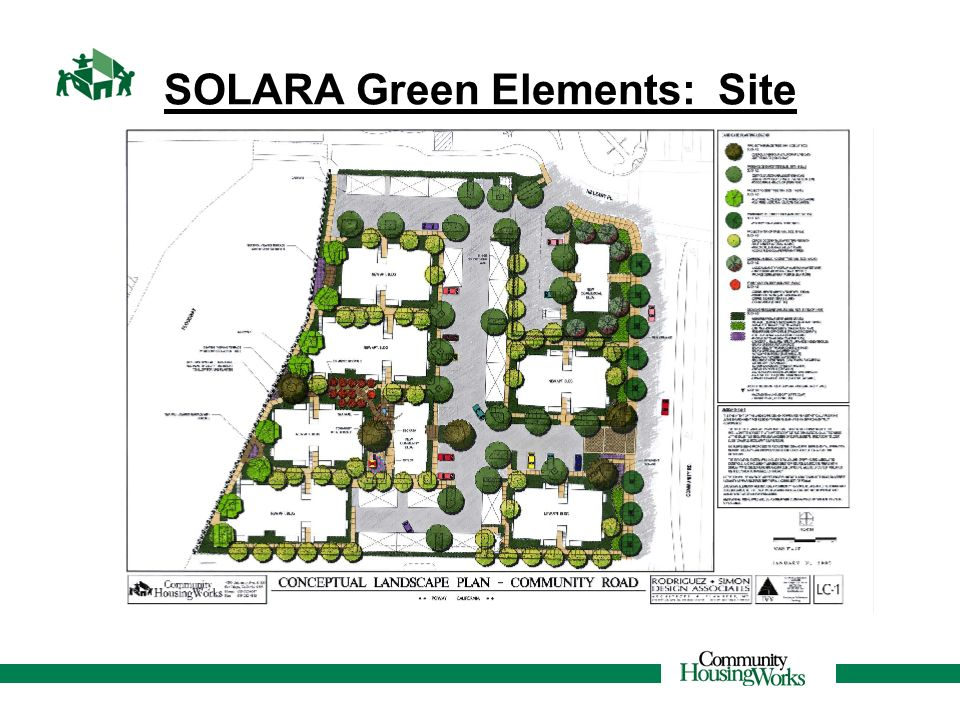 SOLARA Green Elements: Site