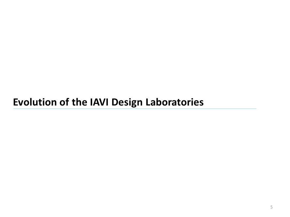 IAVI AIDS Vaccine Design and Development Laboratory A Critical Partner in IAVIs Global AIDS Vaccine Discovery Program Vaccine Design: Neut Ab and Control of HIV Problems Vaccine Development: Prioritization, Formulation and Process Development