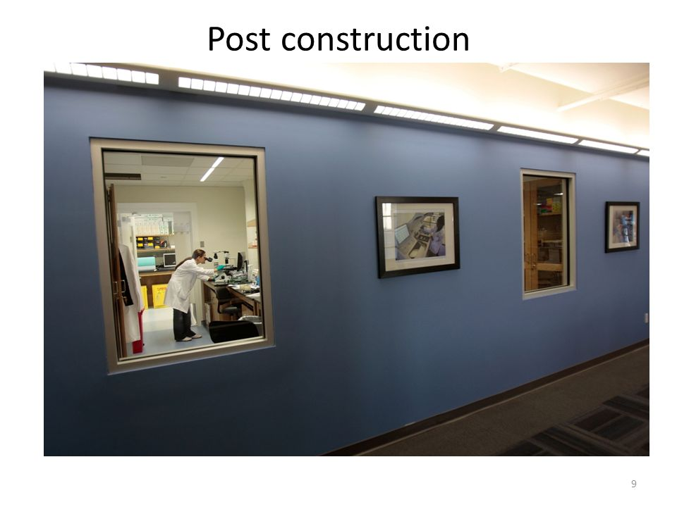 9 Post construction