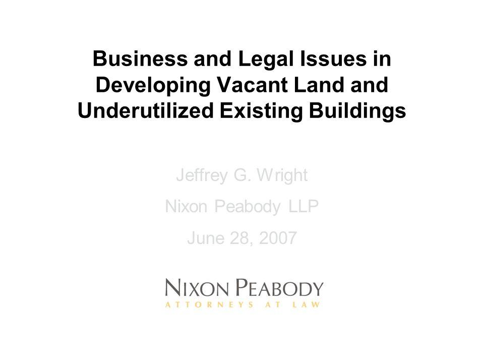 Phases of Development Process a)Planning b)Development c)Financing d)Construction e)Operations