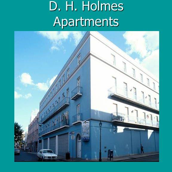 D. H. Holmes Apartments