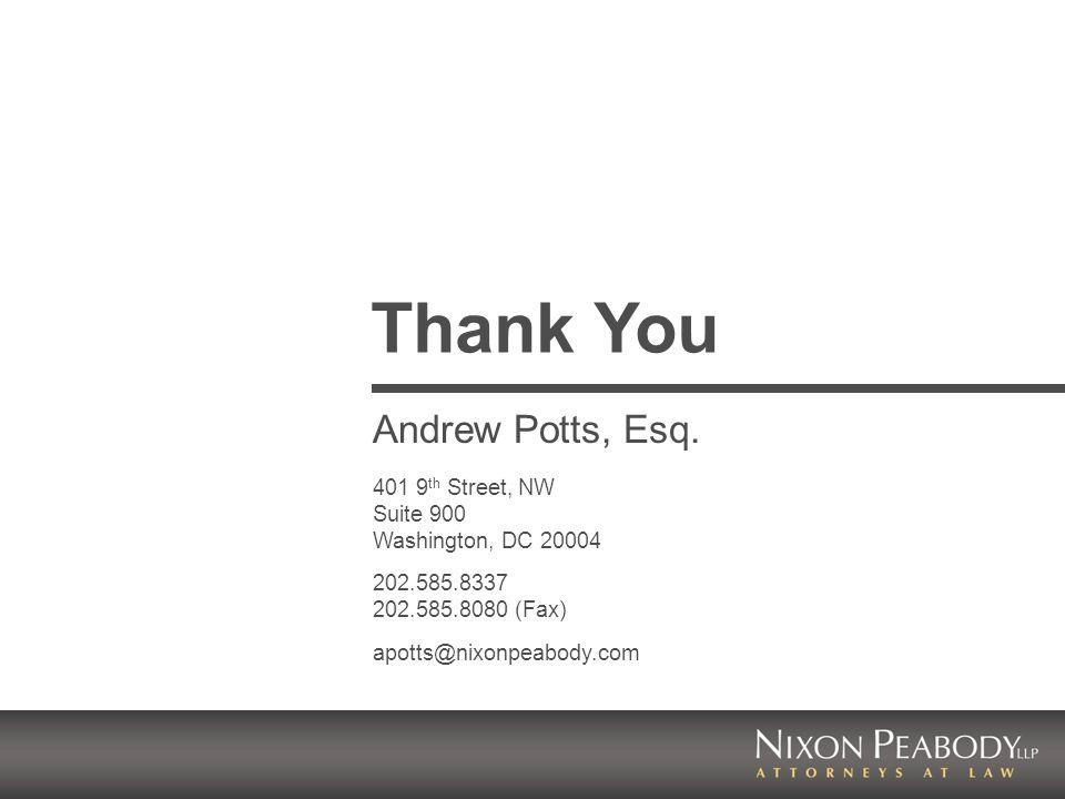 Andrew Potts, Esq.