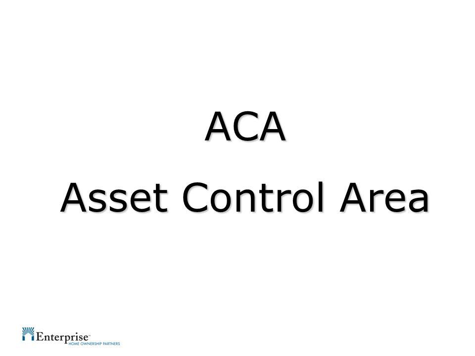 ACA Asset Control Area
