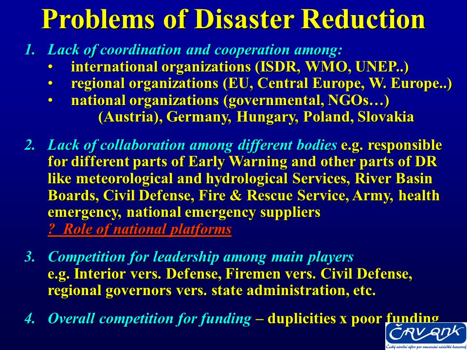 The Framework (Hyogo) outlines three strategic goals more effective integration of disaster risk into more effective integration of disaster risk into sustainable development policies, planning and sustainable development policies, planning and programming at all levels, with a special programming at all levels, with a special emphasis on disaster prevention, mitigation, emphasis on disaster prevention, mitigation, preparedness and vulnerability reduction preparedness and vulnerability reduction development and strengthening of institutions, development and strengthening of institutions, mechanisms and capacities at all levels, in particular at the community level, that can contribute to building at the community level, that can contribute to building hazard resilience hazard resilience incorporation of risk reduction approaches into incorporation of risk reduction approaches into emergency preparedness, response and recovery programs in the reconstruction of affected communities emergency preparedness, response and recovery programs in the reconstruction of affected communities