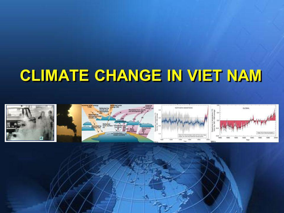 CLIMATE CHANGE IN VIET NAM