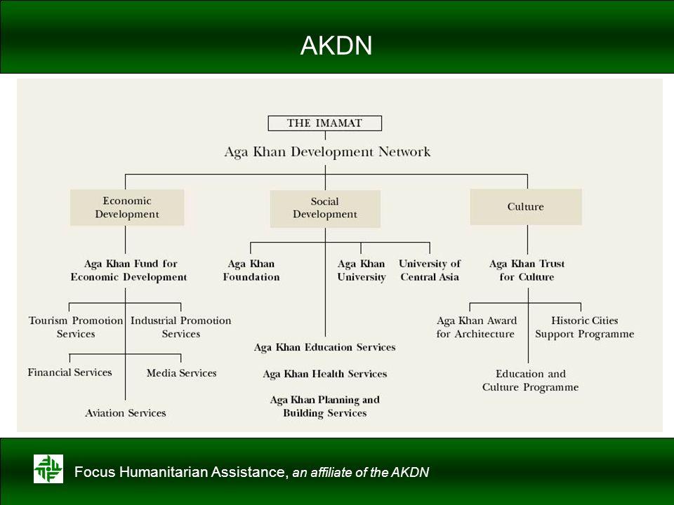 Focus Humanitarian Assistance, an affiliate of the AKDN AKDN