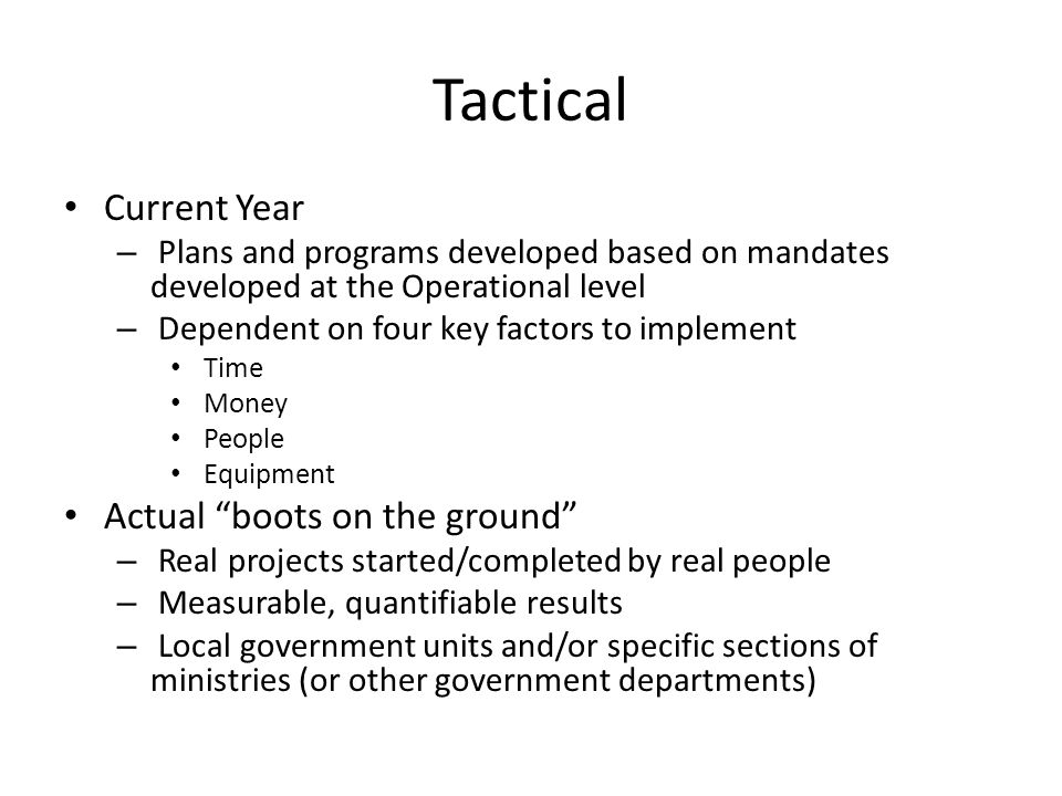 Recap A Strategic National Action Plan (SNAP) is not a stand alone document.