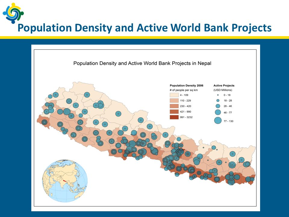 Population Density and Active World Bank Projects
