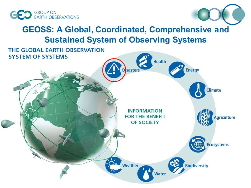 © GEO Secretariatslide 3 GEOSS: A Global, Coordinated, Comprehensive and Sustained System of Observing Systems