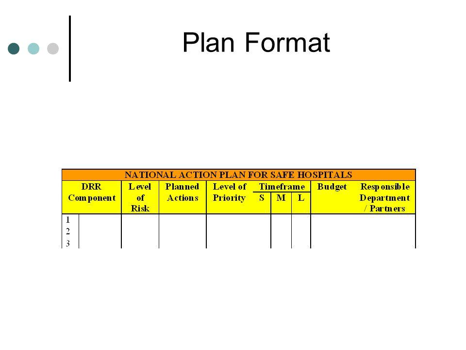 Plan Format