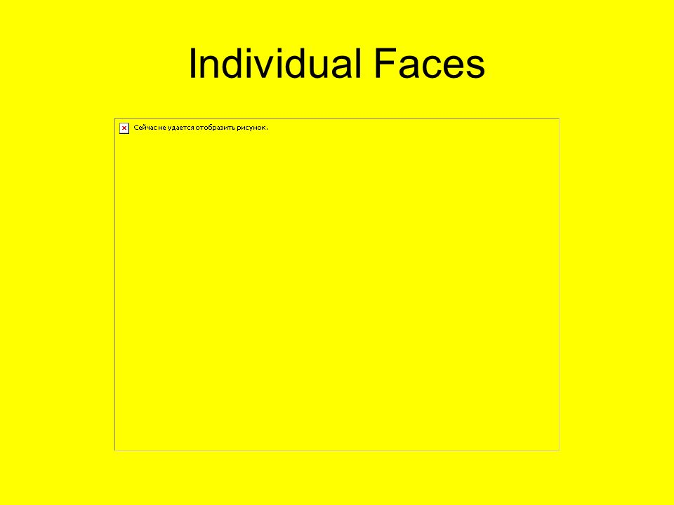 Individual Faces