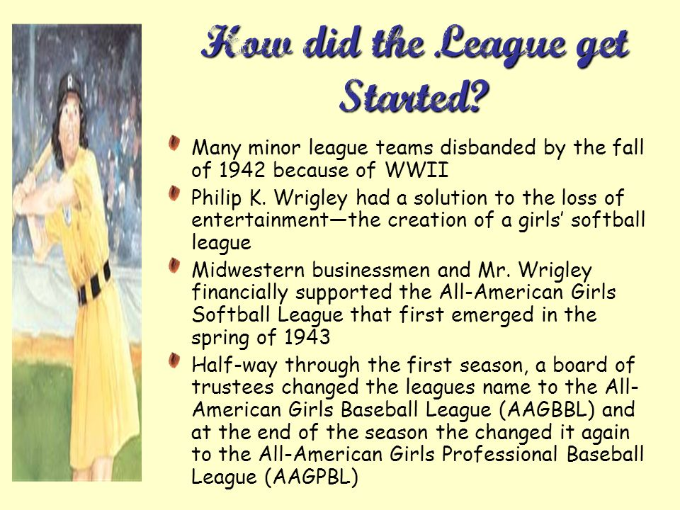 How did the League get Started.