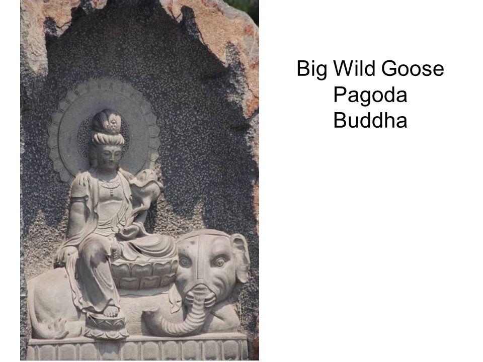 Big Wild Goose Pagoda Buddha