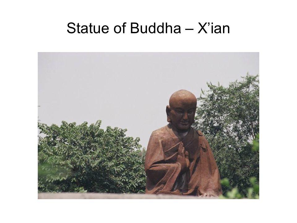 Statue of Buddha – Xian