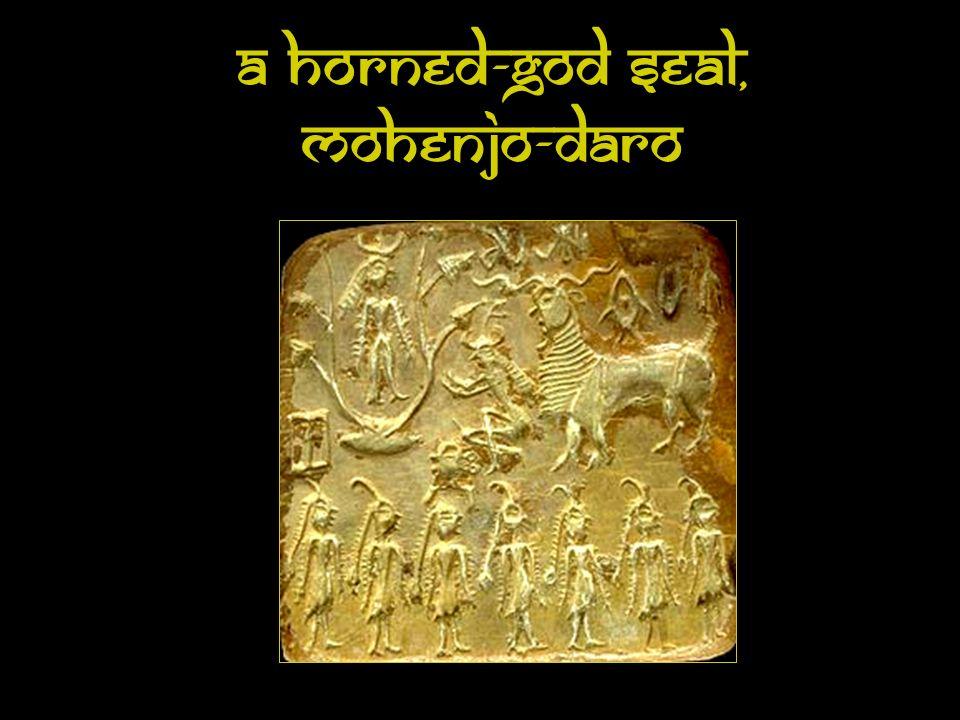 A Horned-God Seal, Mohenjo-Daro