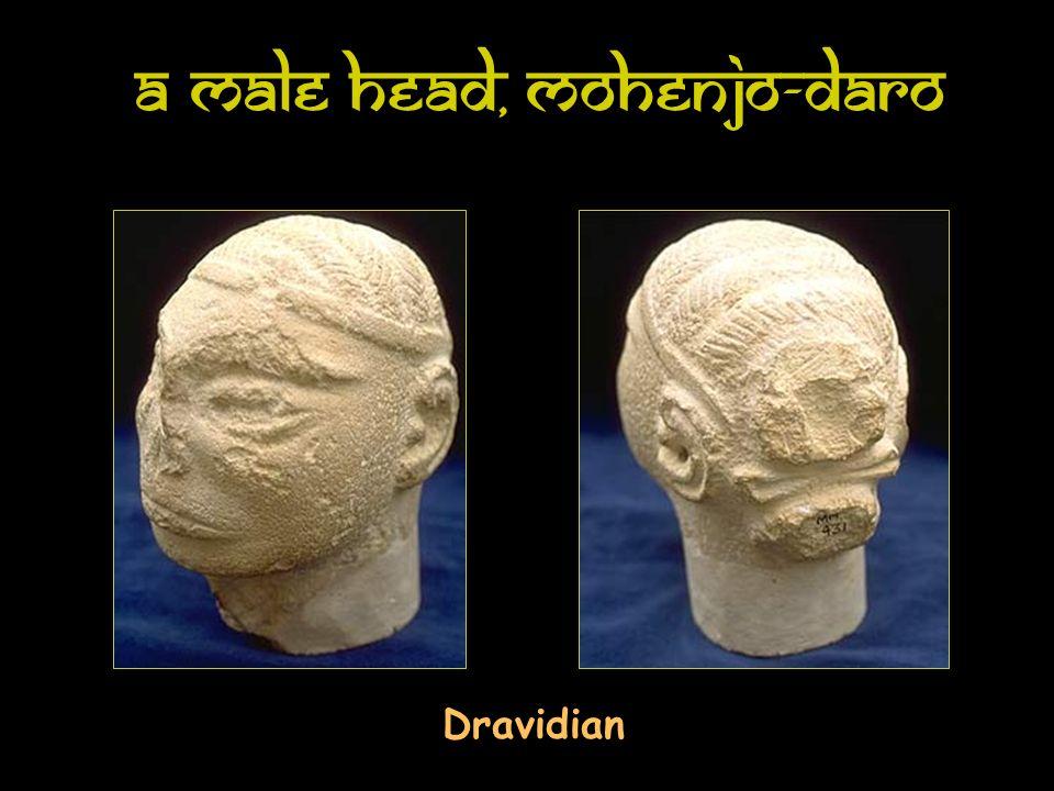 A Male Head, Mohenjo-Daro Dravidian