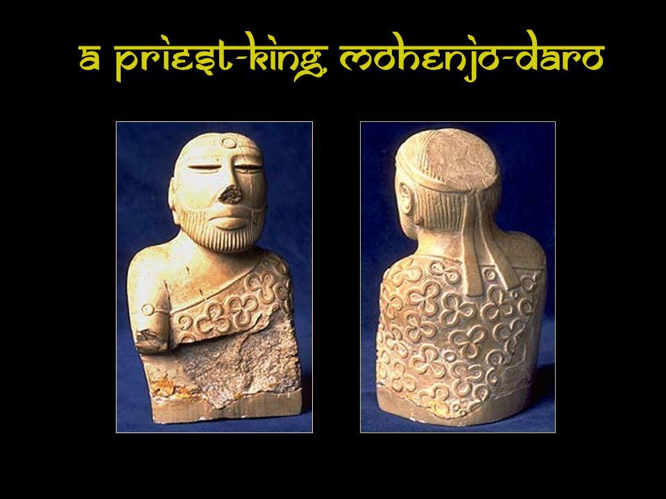 A Priest-King, Mohenjo-Daro