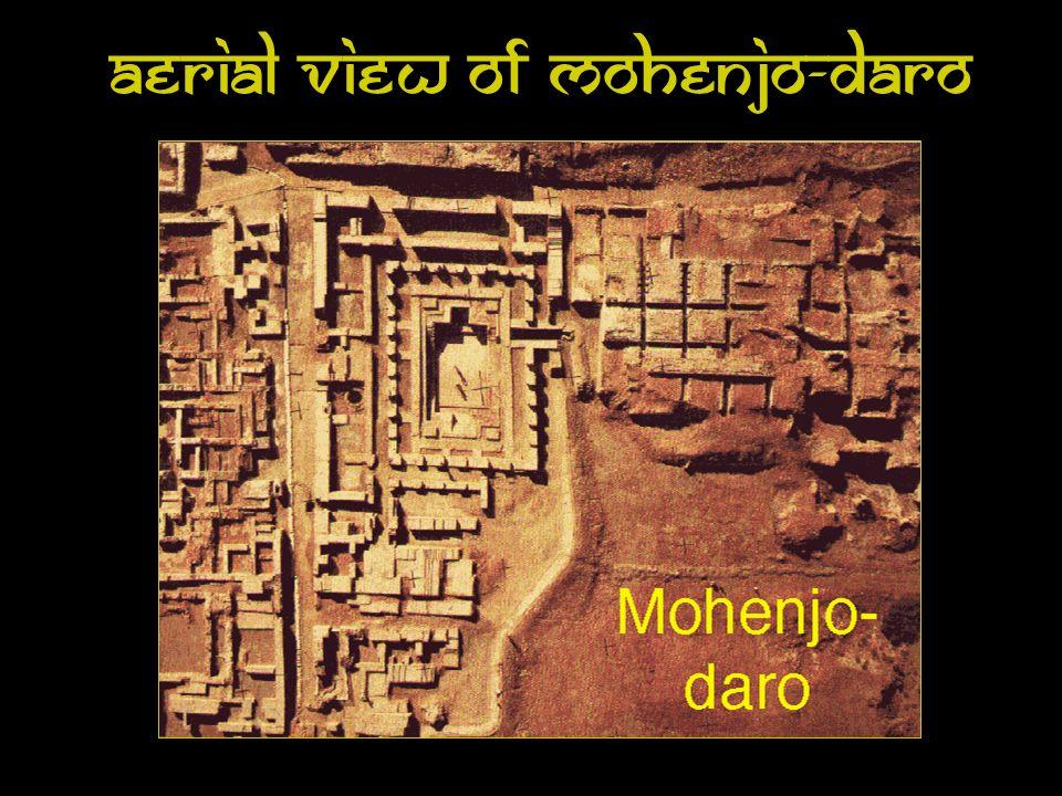 Aerial View of Mohenjo-Daro