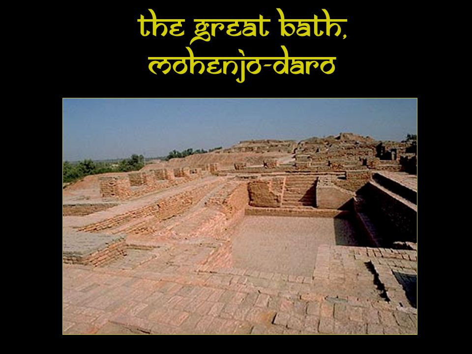Bath Area, Mohenjo-Daro
