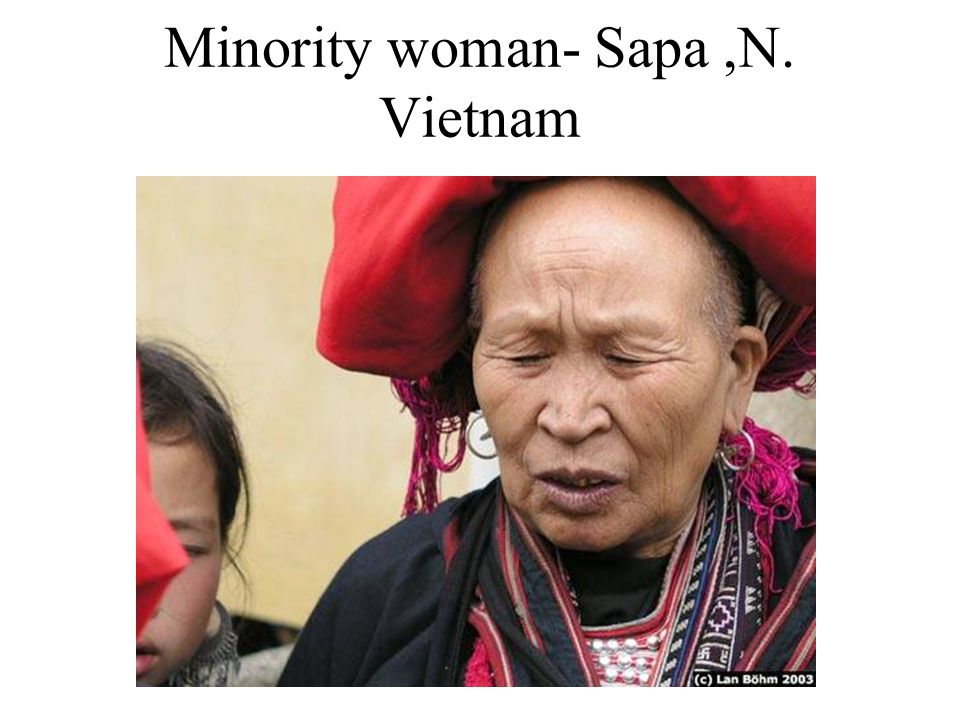 Minority woman- Sapa,N. Vietnam