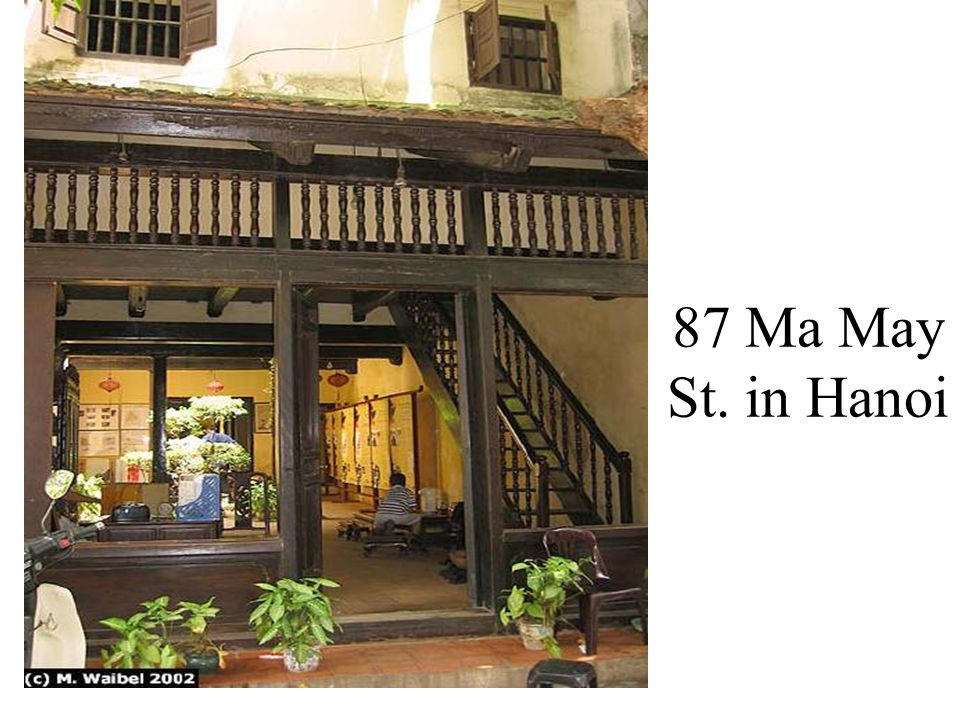 87 Ma May St. in Hanoi