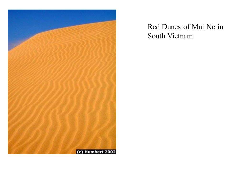 Red Dunes of Mui Ne in South Vietnam